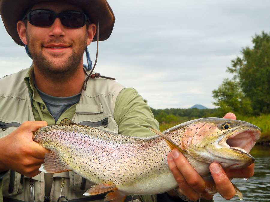 fly fishing Kamchatka