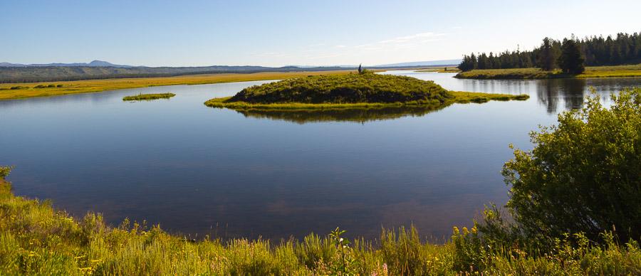 trout stream, Henry's Fork, Idaho