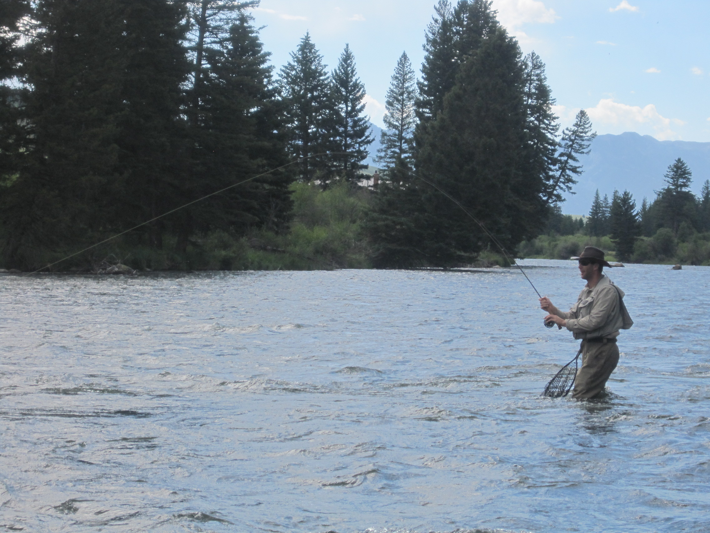 fly fishing destinations- Ennis, Mt