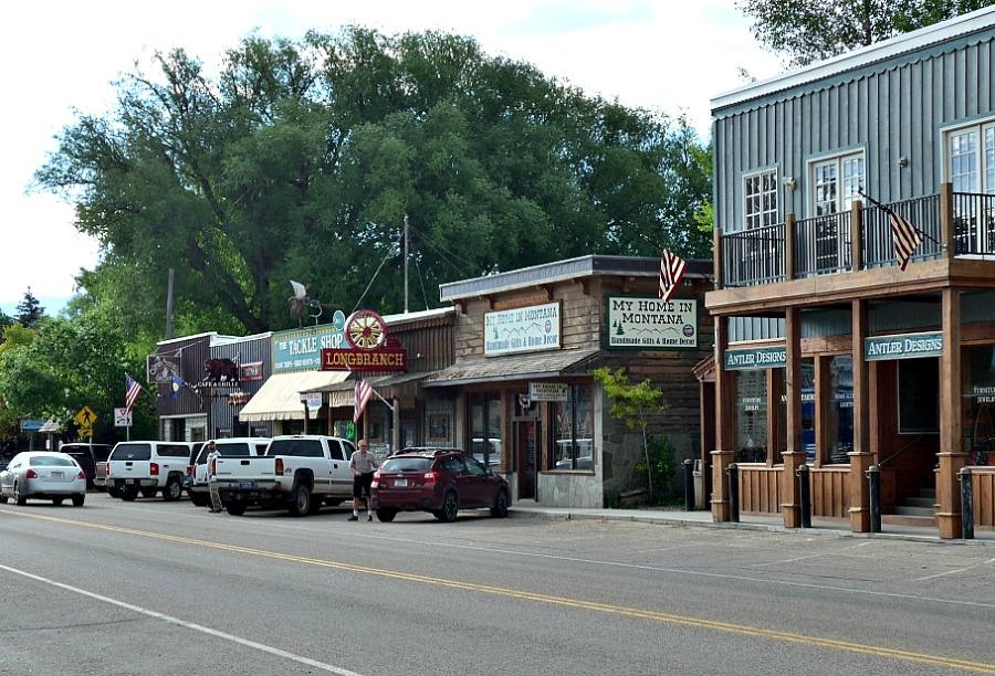 Mainstreet, Ennis, Montana