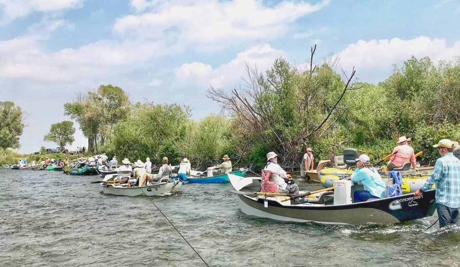 getting western on Montana's Madison River