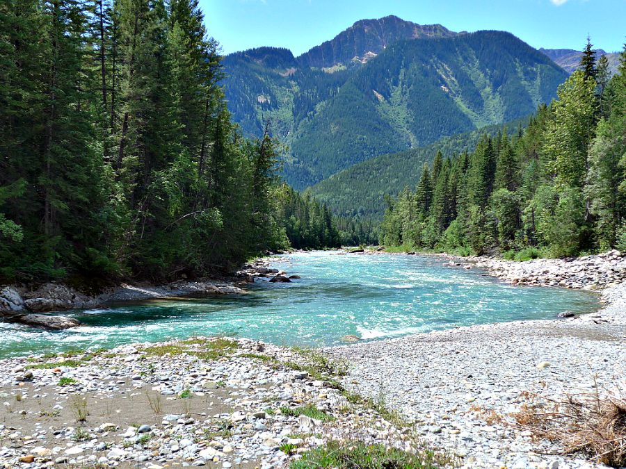 trout stream, Wigwam River, Ca.